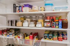 Diy Pantry Inspired By Elfa Systembut Was A Fraction