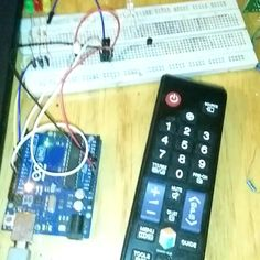 Learn how you can decode the IR signal from your remote control device using a simple Arduino and IR Sensor circuit for your next wireless Arduino project. Learn How to Decode a TV Remote Using Simple Arduino with IR Sensor Circuit Arduino Radio, Arduino Gps, Led Cube Arduino, Arduino Circuit, Arduino Wireless, Arduino Programming, Arduino Laser, Electronics Projects, Electronic Circuit Projects