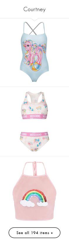 39b6f2c9ff4f6 MOSCHINO Sixties Two Piece Swimsuit.  moschino  cloth  dress  top ...