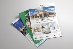 Real Estate Flyer by TimphanCo on @creativemarket