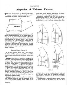 Adaptation of Waistcoat Patterns - The Cutter and Tailor