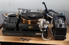 Micro SX 8000 II / Micro BA 50 Audio Base & Kuzma Air Line , Saec tonearm .