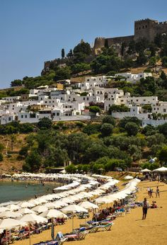 Lindos Village & Acropolis - Rhodes, Greece