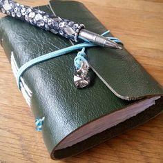 Functional AND beautiful. Get rid of your scrappy paper lists cluttering up your handbag and upgrade to a leather pocket notebook!! #lukh #the_handmade_spotlight #etsyelegance #stationeryaddict #feelingfolksy #folksy #UKSmallBiz #EtsyUK #EtsyFinds #ShopEtsy #EtsyLove #handbagaccessories #leathernotebook #makeanote #treatyourself #handmadebook  #RePin by AT Social Media Marketing - Pinterest Marketing Specialists ATSocialMedia.co.uk