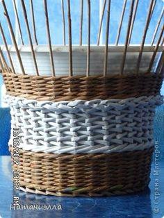 Мастер-класс Плетение плетенка- 3 в одном Бумага газетная фото 16