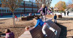 Academie Lafayette Playground, KEM Studio and Zahner, Kansas City, 2013 - Playscapes