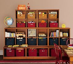 Could so use storage like this for kids stuff!