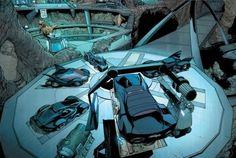 I Get Around: The Best Vehicles in Comics