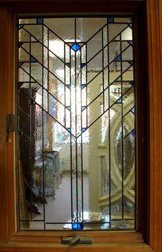 Custom Andersen Window Insert Briarwood Stained Gl Studio Making