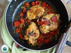 Chicken breast in white wine and cherry tomatoes - tasty recipes .- Chicken breast in white wine and cherry tomatoes – tasty recipes – Turkey Recipes, Chicken Recipes, Italian Chicken Dishes, Peru, Pork Ragu, Perfect Baked Potato, Best Macaroni And Cheese, Braised Brisket, Meat Recipes