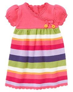 Stripe Sweater Dress - Gymboree