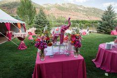 Ava's Bat Mitzvah | Eppich Photography, #celebrations.theeventpro.com, #pink&orange, #elegantelephants