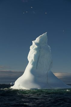 ..Icebergs off coast of Fogo Island, Newfoundland & Labrador by John Sylvester..