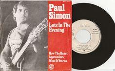 "PAUL SIMON Late In The Evening 1980 Portugal Issue Rare 7"" 45 rpm Vinyl Record Music Pop Rock Folk 70s garfunkel WAR17666 Free s&h"