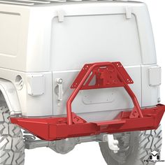 High Quality Steel Bumper From Metalcloak Constructed of Hot Rolled Steel 7GA Steel Plate 2 Different Length Options: Crawler & Full Width Optional Adjustable Tire Carrier All Mounting Hardware is Included Available in Bare Metal or Black Powdercoat Fits: 2007-2017 Jeep Wrangler JK & JK Unlimited