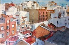 Buscando gatos, por los tejados de Madrid