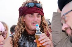 Blog - Tim Castaway Chuck McKinney enjoying his party