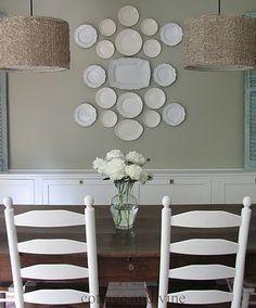Perfect Plate Arrangement! from Debbie Dusenberry/Curious Sofa