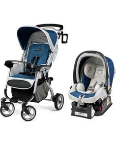 An infant car seat that exceeds some of the world's most stringent safety standards + a stroller that folds for compact storage? We LOVE this travel system. Click above to buy one, and then hit the road!
