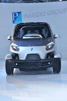 Piaggio NT3 Concept Showcased At 2014 Auto Expo [LIVE]   Fly-Wheel