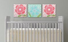 coral and aqua art kids wall art nursery art by AveQcollection
