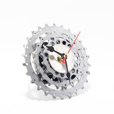 steampunk desk clock bicycle clock small desk by clocklight bicycle themed gifts pinterest clock desks and small desks
