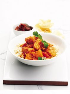 This Indian curry recipe, with salmon and potato, is made with just a few tasty ingredients.