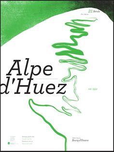 alpe d'huez Cycling Art, Road Cycling, Bicycle Tattoo, Bicycle Illustration, Alpe D Huez, Cycle To Work, Triathlon Gear, Bike Room, Bike Poster