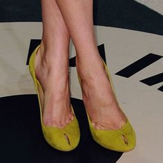 DVF Shoes on Oscars' 2012