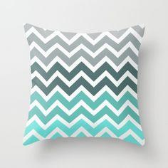 Tiffany fade chevron cushion cover - Image Tiffany fade