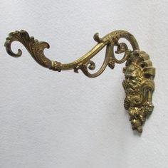 Vintage Plant Birdcage Hook with Mythological God Bacchus