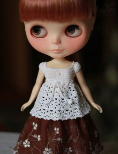 Blouse for blythe by Ulanna on Etsy, $20.00