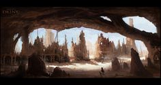Dune Project /by Mark Molnar #concept #art #SciFi