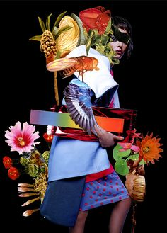 Eclectic Magazine by Ashkan Honarvar, The Dream, collages