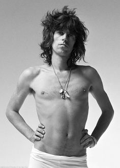 Keith Richards, 1973 © Storm Thorgerson
