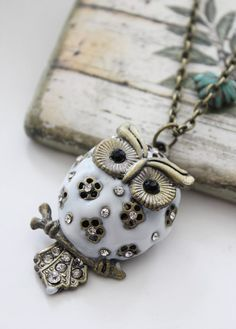 Owl necklace...