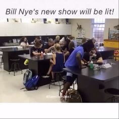 Bill Nye's new show will be lit!