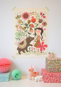 helen dardik poster... little girl room