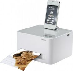 Rollei Photo Printer: allows you to print pictures from your phone by simply plugging it  into the device.  Much easier than hooking a phone up to a computer and transferring photos.