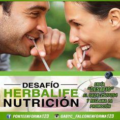 @gabyc_falconenforma123 @gabyc_falconenforma123 #venezuela LLEGAMOS! Prueba la nutrición de Herbalife por 3 días. Aceptas el reto? Te obsequiaremos una Evaluación Corporal. Queremos tus resultados y que mejores tu nutrición. Que estás esperando? Envía la palabra DESAFÍO al 04242507264 y reclama la promoción. Sigue a  @gabyc_falconenforma123 #health #healthy #Paraguana #instagood #instalike #redesSociales #paraguana #instagood #like4like #haztenotar #socialmedia #nutricion #food #foodie…