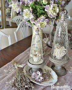 Decorate with lavender for a delightfully simple way to evoke Provence and integrate the floral herb's lovely scent and color.