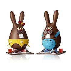 Les lapins Léa et Léo