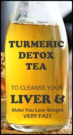 Turmeric tea is an excellent detox drink for purifying your liver and losing wei. - Healthy Life Turmeric tea is an excellent detox drink for purifying your liver and losing wei. Turmeric tea is a Liver Detox Cleanse, Detox Your Liver, Natural Colon Cleanse, Juice Cleanse, Diet Detox, Health Cleanse, Liver Detox Drink, Stomach Cleanse, At Home Cleanse
