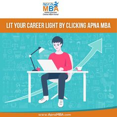 Apply via #ApnaMba and lit the light of your career.  Register Now: http://qoo.ly/ef7xs  #Admissions #Enrollment #Education #Success