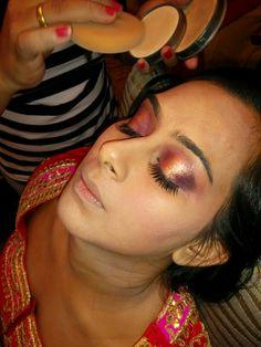 Bridal makeup @chen's hair n beauty salon