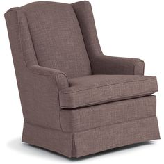 The Best Chairs Sutton Swivel Glider is a great space for you to bond with baby. This glider is designed to fit in most living rooms, bedrooms or nurseries. The thick cushioning in the seat and seat back and the padded arms help keep mom or dad comfy, and the gentle gliding and swiveling motions make it easy for your youngster to hit the hay. <br><br>The Best Chairs Sutton Swivel Glider - Shadow Features:<br><ul><li>Thick cushioning in the seat and seat back and ...