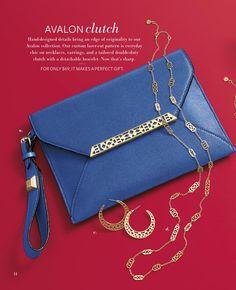 Avalon clutch and matching collection. Holiday Mini Lookbook 2013  stelladot.com/palightstylist