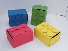 lego style gift boxes