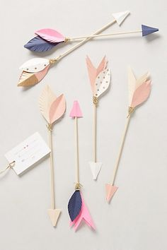 #DIY #arrows #paperwork #paper #pastel #decoration