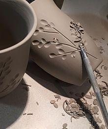 Dotti Potts Pottery Studio   IVORY COLLECTION
